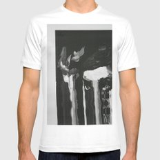 Jean 2.0 White MEDIUM Mens Fitted Tee