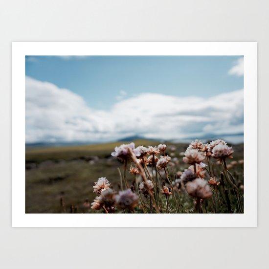 Love, Flowers  Art Print