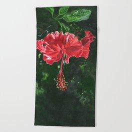 Flamenco by Teresa Thompson Beach Towel