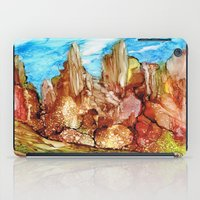 southwest iPad Cases featuring Rocky Southwest by Rosie Brown