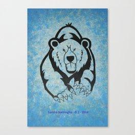 Bear Power 1 Canvas Print