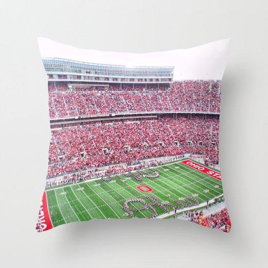 GO BUCKS!  Throw Pillow