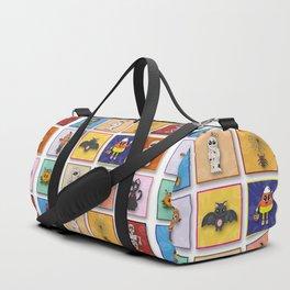 Halloween Character Pattern Duffle Bag