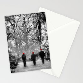 Salt Lake City - Red Hats Stationery Cards