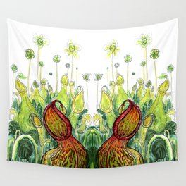 Pitcher Plants Wall Tapestry