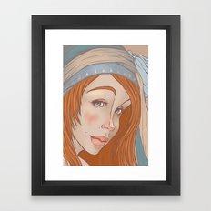 Smile? Framed Art Print