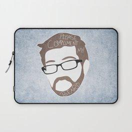 Bearded Compliments Laptop Sleeve