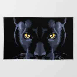 Black panther Rug