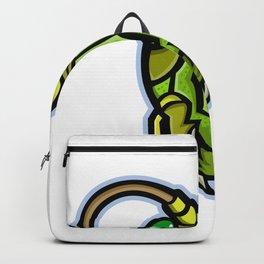 Grasshopper Head Mascot Backpack