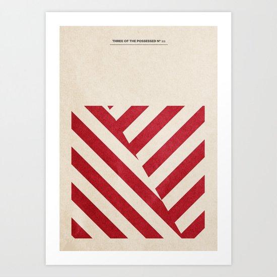 III Samplers 4/6 Art Print
