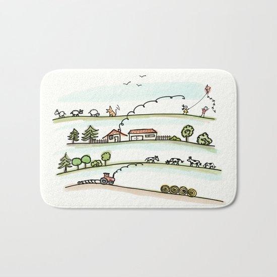Country Life Bath Mat