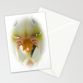 Orchid Centre (Orchidaceae) Stationery Cards