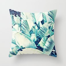 Banana Leaf Crush #society6 #decor #buyart Throw Pillow