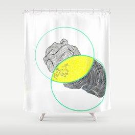 grebe Shower Curtain