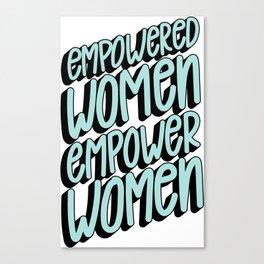 Empower Women Canvas Print