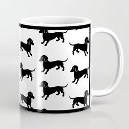 Dachshund Pattern Coffee Mug