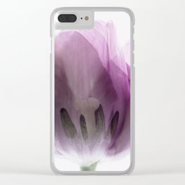 Inside Out Tulip Clear iPhone Case
