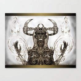 Goddess Bone Canvas Print
