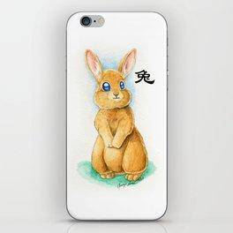 Chinese Zodiac Year of the Rabbit iPhone Skin