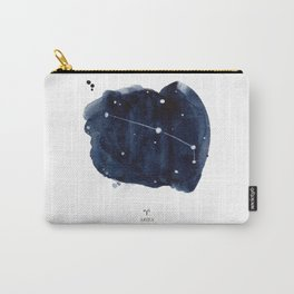 Zodiac Star Constellation - Aries Carry-All Pouch
