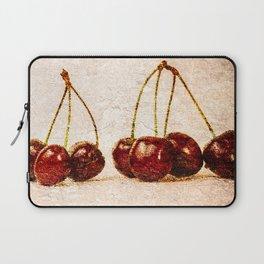 Cherries Panorama Laptop Sleeve