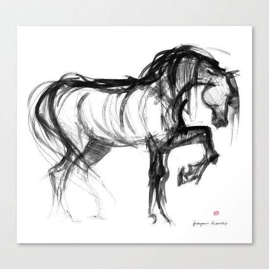 Horse (Saklavi) Canvas Print