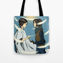 Leia's Message Tote Bag