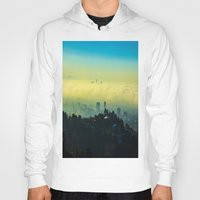 los angeles Hoodies featuring Los Angeles by Sbnumb3
