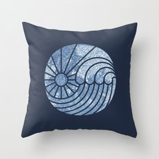 Sea of Serenity Throw Pillow
