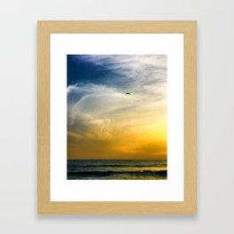 Cascais - beach Framed Art Print
