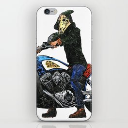 Horseman #4 iPhone Skin