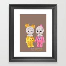 Small Gang Framed Art Print