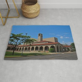 Lourdes University-  Franciscan Center in the Spring VIII Rug
