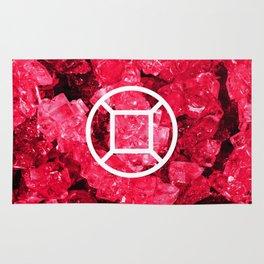 Ruby Candy Gem Rug
