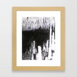 Cave Drawing IV Framed Art Print