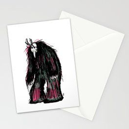 Yeti Beast Stationery Cards