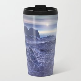 Frozen Sea of Neptune Travel Mug