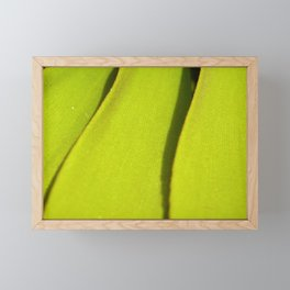 Vegetal lines Framed Mini Art Print