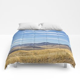 East of Steens Comforters