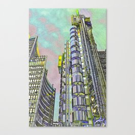 Lloyd's of London Building  Canvas Print