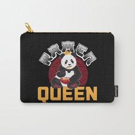Panda Ramen Miso Nudelsuppe Queen Geschenk Carry-All Pouch