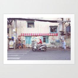 Saigon Art Print