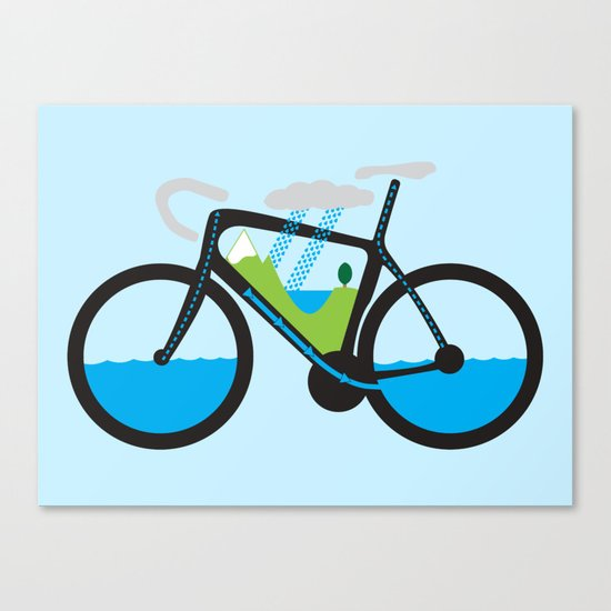 The Water Cycle Canvas Print