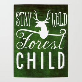 forest child Poster