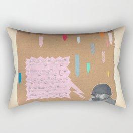 Bad timing Rectangular Pillow