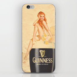 Guinness - Vintage Beer iPhone Skin