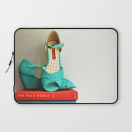 Books and Shoes Laptop Sleeve