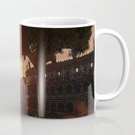 Sunset on ancient Rome Coffee Mug