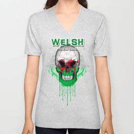 To The Core Collection: Wales Unisex V-Neck