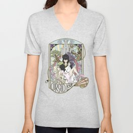 Cursed Love - Mavis and Zeref Unisex V-Neck